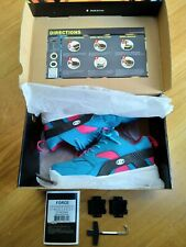 Girls Heelys blue trainer style single wheel size 3 great condition with box