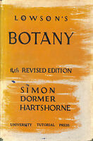 Lowson's Textbook of botany by Lowson, John Melvin
