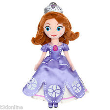 DISNEY PRINCESS SOFIA THE FIRST PLUSH DOLL 33CM GIRL TOY NEW AUTHENTIC