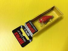 Rapala Mini Fat Rap MFR-3 FRHF, Red Hologram Flake Color Lure, NIB.