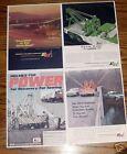 7 Ernest Holmes 750 wrecker Ads & 3 brochures Heavy wrecker Tow Truck Towing