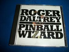 ROGER DALTREY CD Single PINBALL WIZARD Live 2 Track PROMO Daltrey Sings Townsend