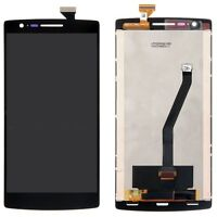 P1 DISPLAY LCD PER ONEPLUS ONE 1 A0001 MONITOR +TOUCH SCREEN VETRO RICAMBI NERO