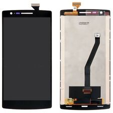 GLS DISPLAY LCD PER ONEPLUS ONE 1 A0001 MONITOR +TOUCH SCREEN VETRO RICAMBI NERO