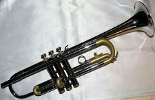 Totally Refurbished Selmer-Bach Bundy Nickel and Satin trumpet with case and mpc