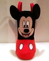 "NEW Disney Mickey Mouse Christmas Plush Standing Boot Stocking 13"" Tall"