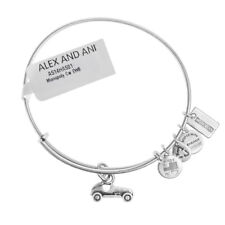 Alex and Ani MONOPOLY Car Silver Bangle AS14HAS01RS - RRP £28