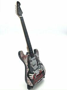Miniature Fender Standard  Stratocaster Guitar - Ozzy Osbourne (Ornamental)