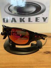 Oakley Ten X Sunglasses - Black Ink - Positive Red - Superb Condition