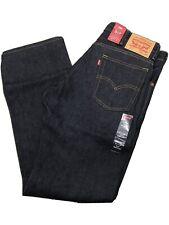 NWT Levi's 517 Boot-cut Rigid Indigo Blue Denim Jeans