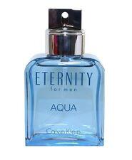 Eternity Aqua By Calvin Klein Men 3.4 OZ 100 ML Eau De Toilette Spray TST Bottle