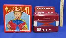Schylling Accordion Children Child Youth Size Original Box Works Musical Music