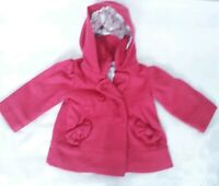 LOVELY TED BAKER BABY WINTER COAT AGE 9-12 M IN VGC! PINK,WOOL CONTENT