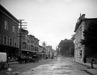 "Main Street Littleton NH (1908) - 8.5"" x 11"" Reprint Photo"