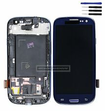 For Samsung Galaxy S3 i9300 LCD Touch Screen Digitizer Display Replacement Blue