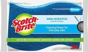3M Scotch Brite Non-Scratch Scrub Sponge S-Shaped Grip Save 40% on quantity