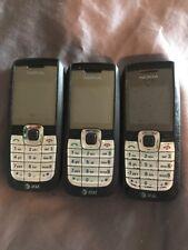 3 X Nokia AT&T 2610 Bar Phones