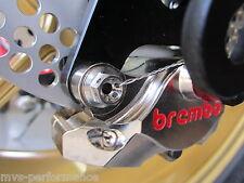 DUCATI RS CORSE RACING TITANIO KIT 899 998 1098 1199 BREMBO Bremszange POSTERIORE 2stk