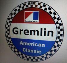 American Motors Corporation sign .. AMC Gremlin