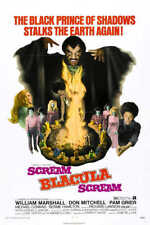 1973 Scream Blacula Scream Vintage Fantasy Film Movie Poster Print 24x16