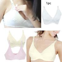 Maternity Nursing Bra Breastfeeding with Pads Breast Feeding Tank Top
