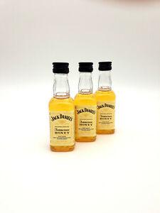"(6,60€/100ml) Jack Daniels ""Tennessee Honey"" Mini 3er Miniaturen Set 3 x 50 ml"