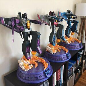 PCS Collectibles Transformers G1 THUNDERCRACKER, SKYWARP & STARSCREAM EX