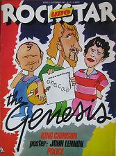 ROCKSTAR 15 1981 Genesis John Lennon Police King Crimson Squeeze Classic Nouveau