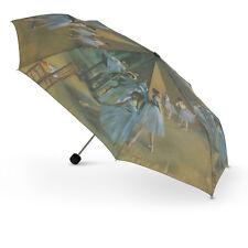 Cascada Collection Artist Print Degas 'Ballet Class' Folding Umbrella