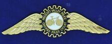 Prescott Valley Police Bike Unit Badge Arizona Airline Pilot Wing WPx