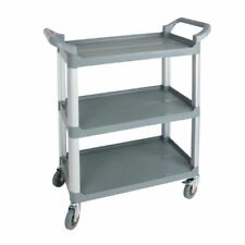 More details for nisbets essentials polypropylene compact mobile trolley 965 x 800 x 420mm