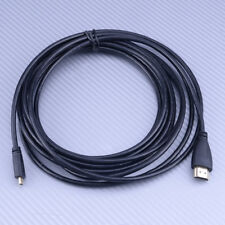 5M Micro HDMI D to HDMI A Male Adapter Converter Cable 1080P Phone Tablet PC TV