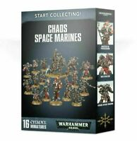 Start Collecting! Chaos Space Marines - Warhammer 40k - Brand New! 70-40