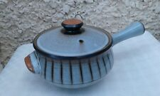 "Denby ""Studio"" Large lidded 2 Pint Casserole / Soup Pot  with handle"