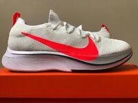 955f278fa1057 Nike Vaporfly 4% Flyknit Ekiden White Flash Crimson AJ3857-160 100%  Authentic