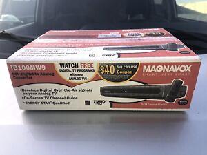 Magnavox TB110MW9 Digital to Analog TV Television Converter Box New Sealed Box