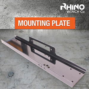 RHINO WINCH MOUNTING PLATE - FOR HEAVY DUTY WINCHES - 8000LB - 15000LB, 13500LB