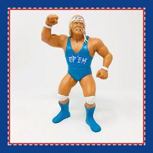 WWF LJN CUSTOM HULK HOGAN NO HOLDS BARRED WRESTLING FIGURE WWE VINTAGE 1980s WCW