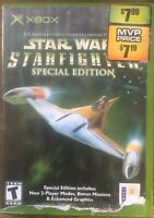 Star Wars: Starfighter Special Edition (Microsoft Xbox, 2001)Cover Art Rough