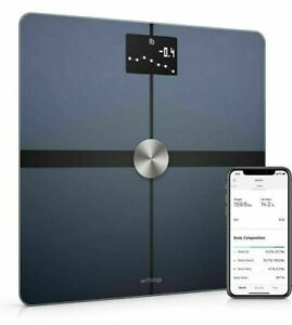 Withings Health Body+ Weight Scale Body Composition Wi-Fi Scale Black