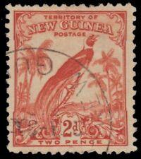 "NEW GUINEA 33 (SG179) - Bird-of-Paradise ""1932 Redrawn Print"" (pa92421)"