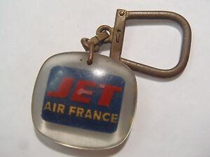 Antique Holder Keys Bourbon Jet Air France Caravelle Boeing 707 Intercontinental
