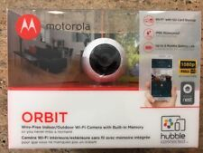 Motorola Orbit Wi-Fi HD (1080p) Wire-Free Indoor/Outdoor Camera, Built-in Memory