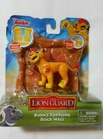 Disney Junior Lion Guard Poseable Figure Toppling Rock Wall Toy Kion