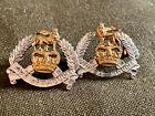 Rhodesian Army Pay Corp Collar Badges Worn 1967-1972
