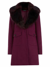 Warehouse Faux Fur Coats & Jackets for Women