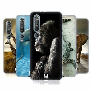 HEAD CASE DESIGNS WILDLIFE SOFT GEL CASE & WALLPAPER FOR XIAOMI PHONES