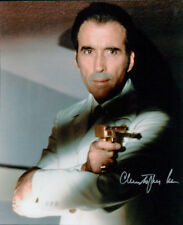 Christopher Lee (The Man with the Golden Gun) signed authentic 8x10 photo COA