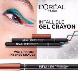 L'Oreal Copper Eyeliner Eye Liner Gel Crayon Kohl 24H Waterproof Pencil