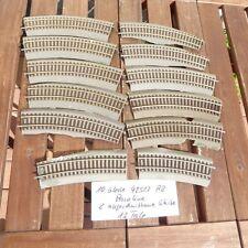 Roco 42522 10 x  und 2 x Roco 42522 beschnitten Roco Line mit Bettung, Konvolut
